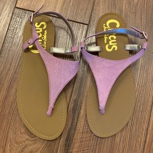Circus by Sam Edelman Lavender pink Sandals
